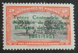 PANAMA YT 281A NEUF**MNH ANNÉE 1951 - Panama