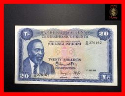 KENYA 20 Shilingi  1.7.1968  P. 3 C  Rare  VF - Kenia