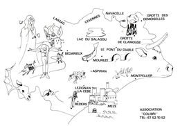 34, Département De L'Hérault, Associassion 'Colibri' - Autres Communes
