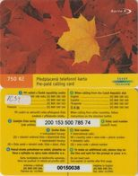 80/ Czech Republic; Prepaid, C43. Czech Telecom, Serie 0015 - Czech Republic