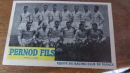 Equipes RACING CLUB DE FRANCE - Fussball