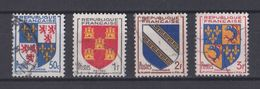 FRANCE   Y&T N ° 951 A  954   Oblitéré - France