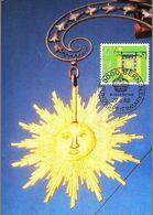 """Enseigne Soleil Auberge Suisse   """"HOTEL SONNE""""  Bundesfeiermarken Pro-Patria Wirtshausschilder 1982  -  BERN - Restaurants"""