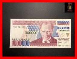 TURKEY 1.000.000   1000000 Turk Lirasi  1995 P. 209  B  AU - Turquie