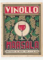 AN 1167 / ETIQUETTE    VINOLLO  MARSALA - Altri