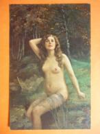 CPA Inédite Non écrite - ERNST SCHNEIDER - Akt - Dans La Forêt - Paintings