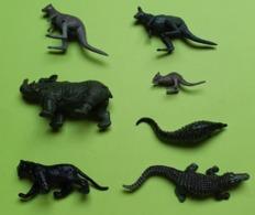 Lot 7 Figurines Jouet - Animaux Publicité PRIOR Ou Sans Pub - Matière Plastique - Etat D'usage - Années 1970 / 80 - Andere