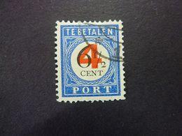 PAYS-BAS, TIMBRES TAXE, Année 1909-10, YT N° 41 Oblitéré - Postage Due