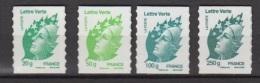 2011-N°604/607** MARIANNE DE BEAUJARD - Adhesive Stamps