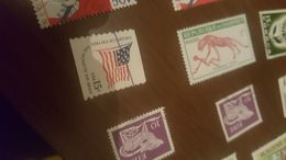 Usa Flag 1 VALORE - Stamps