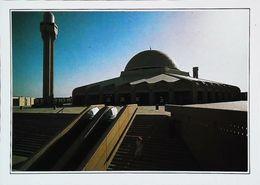 ARABIE SAOUDITE Saudi Arabia -  ٱلْمَمْلَكَة ٱلْعَرَبِيَّة ٱلسَّعُوْدِيَّة - MOSQUÉE DE L'AÉROPORT - Années 80s - Arabie Saoudite