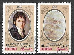USED STAMPS UAE , DUBAI - Dubai