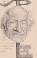 CPA Clef Du Paradis Clé Key Schlüssel Caricature Satirique Illustrateur ORENS (2 Scans) - Orens