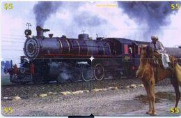Train, CTOA, 4 Prepaid Calling Cards $5, PROBABLY FAKE, # Tren-2 - Eisenbahnen