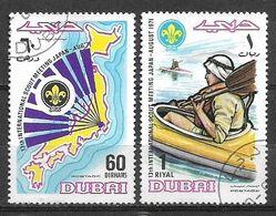 USED STAMPS  UAE , DUBAI SCOUT - Dubai