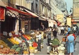 75 - PARIS 5 ème - La Rue MOUFFETARD ( Rue Commerçante Et Piétonne - Commerces Alimentaires ) CPA - Seine - Arrondissement: 05