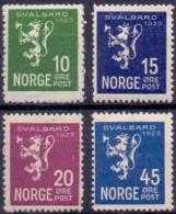 Noorwegen 1925 Svalbard Serie PF-MNH - Ungebraucht