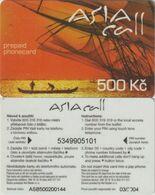 128/ Czech Republic; Prepaid, C68. Net Master, Serie ASB - Tchéquie