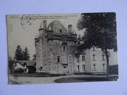 CPA  43 Le Chateau De VAUX Près D'Yssingeaux 1906 TBE - Yssingeaux