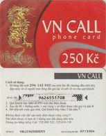 141/ Czech Republic; Prepaid, C89. Net Master, Serie VNJ - Tchéquie
