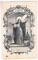 Dp. Begijntje. Ryelandt Sophia. ° Brugge 1793 † Groot-Beggynhof Te Gent 1860  (2 Scan's) - Images Religieuses