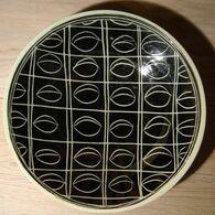 VINTAGE - ASSIETTE FIN DES ANNEES '50 - DECOR PRUNEAUX - Ceramica & Terraglie