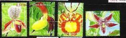 2005-N°3763/3766** ORCHIDEES - Nuevos