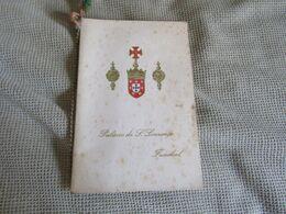 Portugal - Madeira - Funchal - Palácio De S. Lourenço - 1961 - Menu
