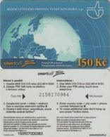 154/ Czech Republic; Prepaid, B2. Net Master, Serie 150R, Extremely Rare - Tchéquie