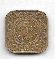 *suriname 5  Cents 1966  Km 12.1 - Suriname 1975 - ...