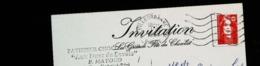 """Carte Postale Invitation - Fête Du Chocolat  1994 - PATISSIER CHOCOLATIER """"Aux Ducs De Savoie"""" à Villeurbanne (Rhône) - Shops"""