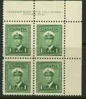 Canada 1942-43 MNH - 1937-1952 Règne De George VI