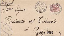 Carpineti Frazionario 54-14 Del 1920 - Storia Postale