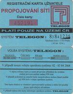 165/ Czech Republic; Prepaid, P1. Telegon - Tchéquie