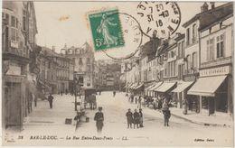 Bar-Le-Duc-La Rue Entre Deux Ponts .-(D.8156) - Bar Le Duc