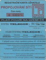 169/ Czech Republic; Prepaid, P5. Telegon, PIN With * - Tchéquie
