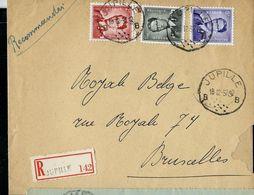 Doc. De JUPILLE - B B - Du 18/12/57  En Rec. ( E ) - Marcophilie