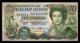 # # # Banknote Falkland Inseln (Falklands) 10 Pounds UNC # # # - Falkland Islands
