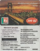 173/ Czech Republic; Prepaid, C1. Telegon, Sticker With New Phone Number 0800 313 118, Mint - Tchéquie