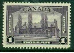"-Canada-1938-  ""Chateau De Ramesay"" (MH *) - 1937-1952 Règne De George VI"