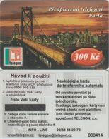 174/ Czech Republic; Prepaid, C1. Telegon, Sticker With New Phone Number 0800 900 135, Mint - Tchéquie