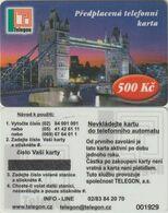 176/ Czech Republic; Prepaid, C2. Telegon, Mint - Tchéquie
