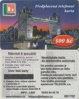 177/ Czech Republic; Prepaid, C2. Telegon, Sticker With New Phone Number 0800 313 118, Mint - Tchéquie
