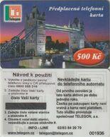 179/ Czech Republic; Prepaid, C2. Telegon, Sticker With New Phone Number 0800 555 316, Mint - Tchéquie