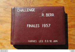 Fixe Pas De Calais Harnes Challenge Berr L'Estaque La Madeleine Loos Wattrelos Tennis De Table Football Sport ...* 1957 - Sports