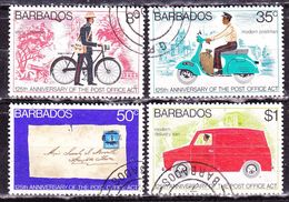 Barbados 1976 Serie Completa Usata - Barbados (1966-...)