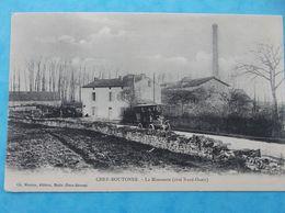 79 : CHEF-BOUTONNE : La MINOTERIE ,côté Nord-ouest , Animée , C.P.A.,en Bon état - Chef Boutonne