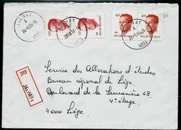 Doc. De JALHAY - A -  ( 4804 ) Du 26/09/86 En Rec. ( E ) - Postmark Collection