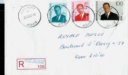 Doc. De JALHAY - B - ( 4845 ) Du 03/10/96 En Rec. ( E ) - Postmark Collection