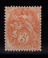Type Blanc - YV 109e N** Papier GC - France
